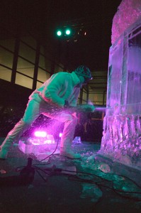 Live Ice Sculpting Performance Shows